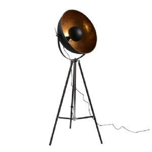 Inner Shade Black and Gold Spotlight Floor Lamp alexander & pearl £295