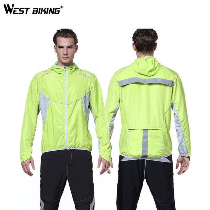 WEST BIKING Cycling Windcoat Bicycle Jersey Sports Windcoat Bike Running Clothes Full Sleeve Jacket Windproof Waterproof Clothes #Affiliate