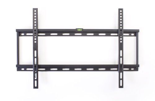 Low Profile Wall Mount Bracket for a LCD, LED or Plasma TV Between 26 and 55 inches - Black by Displays2go. $20.16. This low profile flat screen TV mount is designed to hold a 26 to 55 inch television that weighs less than 99 pounds. The plasma or LCD wall mounting bracket is compatible with the following VESA standard measurements: 100mm by 100mm through to 600mm by 400mm. This low profile flat screen TV mount sticks out only 1 inch, therefore placing a television alm...