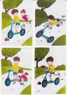 Sárinka-svet-za-zrcadlem-autismus: Dějová posloupnost