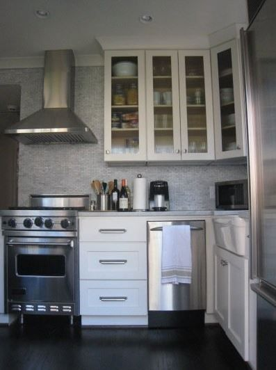 Best 25 very small kitchen design ideas on pinterest - 10x10 kitchen designs with island ...