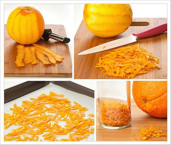 Make Your Own Dried Orange Peel | MyGourmetConnection