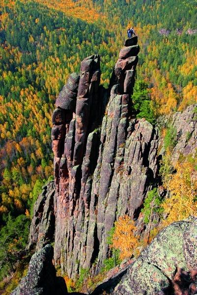 Stolby nature reserve, Krasnoyarsk, Siberia, Russia.