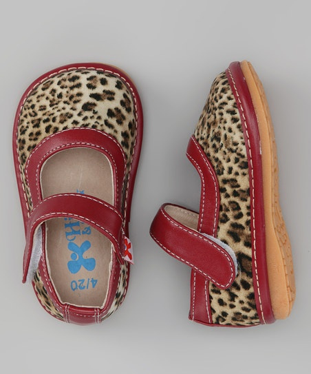 Maroon Animal Instincts Leopard Squeaker Mary Jane by Hide & Squeak on #zulilyFashion Shoes, Squeaker Mary, Animal Instinct, Kids Shoes, Instinct Leopards, Mary Jane, Children Shoes, Squeaker Shoes Infants, Leopards Mary