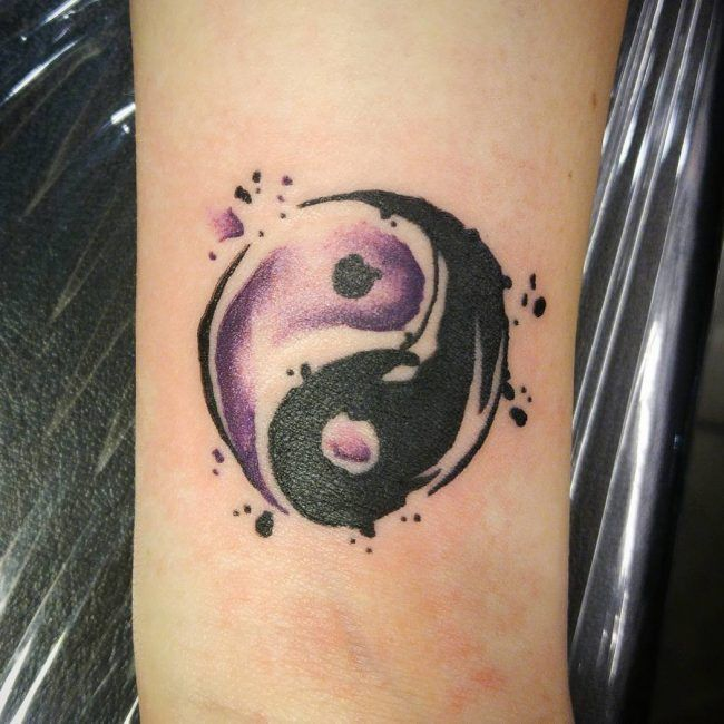 582 best tattoos images on pinterest tattoo ideas for Yin yang meaning tattoo