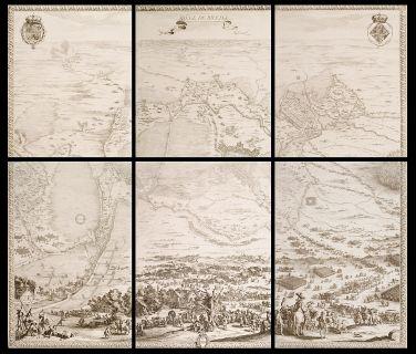 """El sitio de Breda pasó por el mayor acontecimiento estratégico de la época. Breda era para los españoles el baluarte más importante de Flandes. Era por su posición estratégica, un punto clave y por ese mismo motivo era una fortaleza inexpugnable. : Tomad Breda"""", se cree que ordenó Felipe IV. El marqués de Spinola, , logró la rendición de los asediados, el 2 de Junio de 1625 se firmaron las capitulaciones y el día 5 de Junio se produjo la entrega de las llaves de la ciudad."""