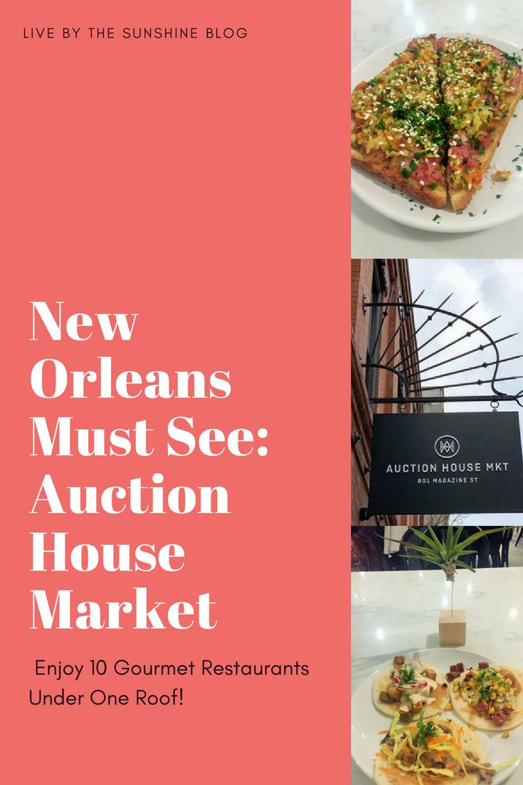 Local or visiting Auction House Market is the perfect place to stop and grab a delicious meal or snack from the multi vendors featured here. The nine chef-driven vendors will be serving breakfast lunch and dinner but you can also enjoy coffee or a cocktail with this stellar line-up. #foodie #NOLA #eatnola #Neworleans