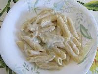 Pasta con gorgonzola