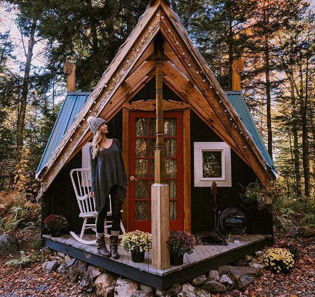 355 best forest wood cabin love images on pinterest Tiny cabin