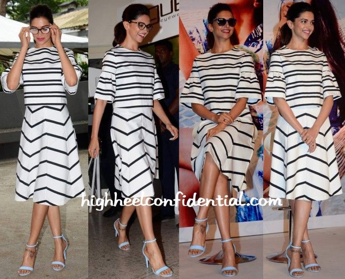 Deepika Padukone In Zara At Vogue Eyewear Event-1