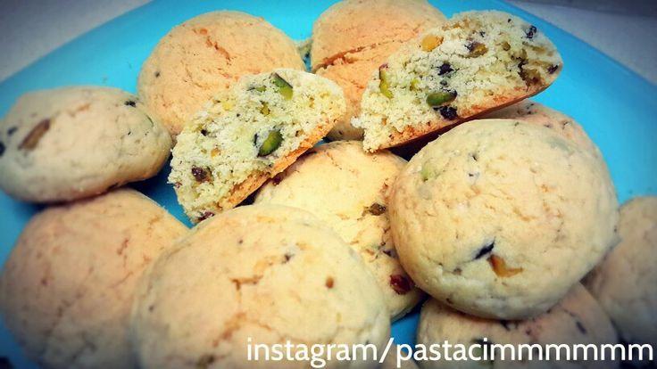 Meshur incirli fistikli  kurabiyelerim