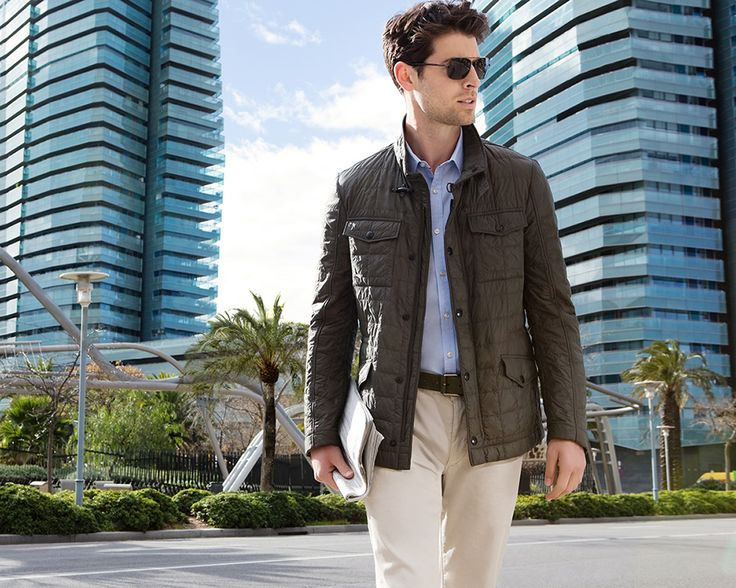 Fay City Diaries: an endless adventure in Barcelona. Men's Spring - Summer 2014 Quilted Jacket.