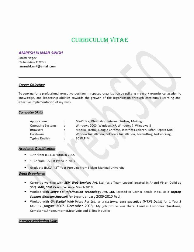 Team Lead Job Description Resume Awesome Seo Specialist Resume Seo Team Leader Delhi India Resume Examples Medical Assistant Resume Good Resume Examples