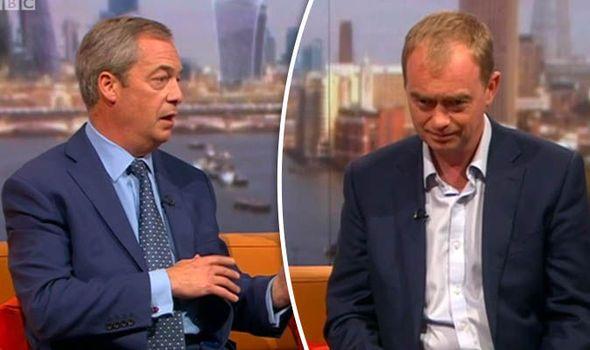 Farage and Farron