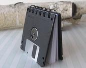 Recycled Geek Gear Blank Floppy Disk  via Etsy.
