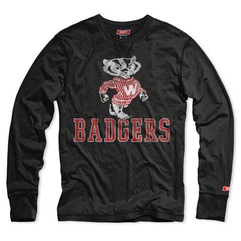 Wisconsin Badgers Long Sleeve T-shirt