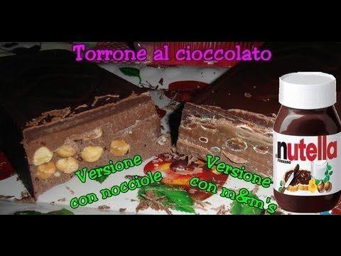 Ricetta - Torrone dei morti con nutella e cioccolato, due versioni (con video ricetta)