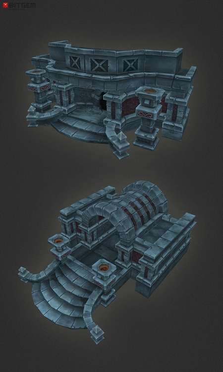 Dungeon Entrance  Exit Are finally done thanks to Tran Van Dinh!