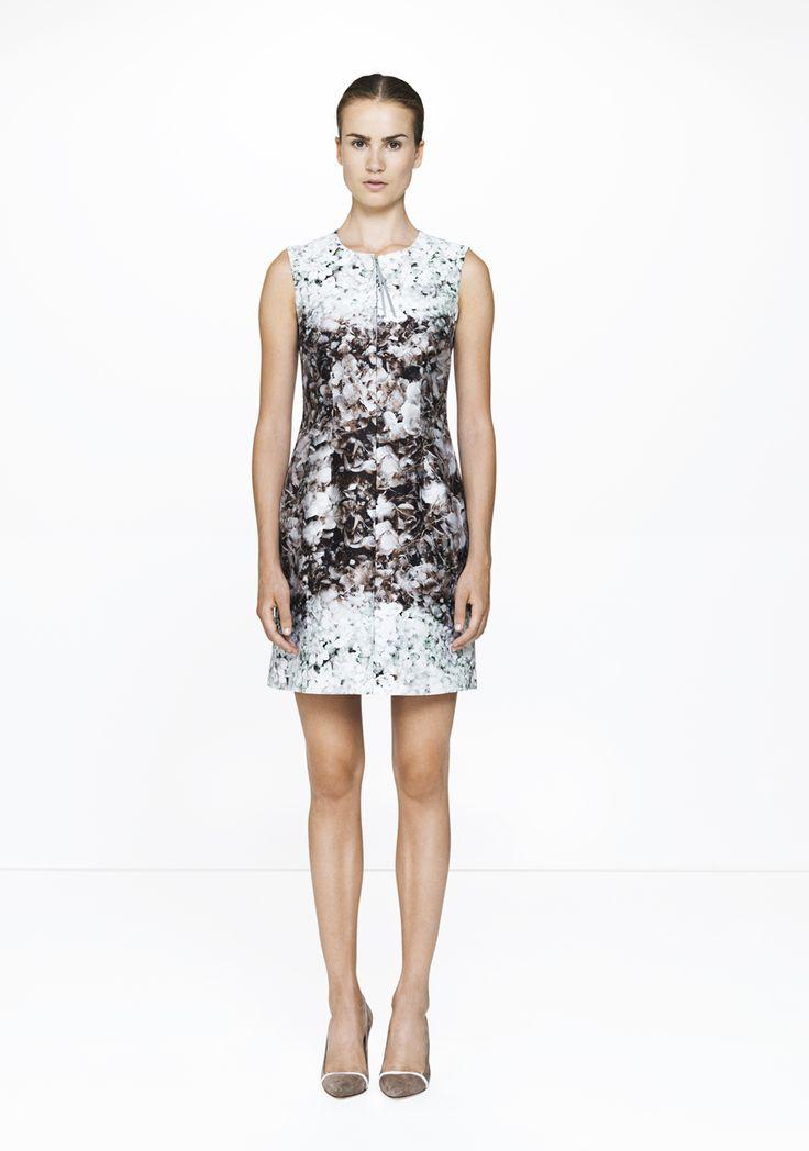 Floral dress - 9145-12422  ELISE GUG SS15