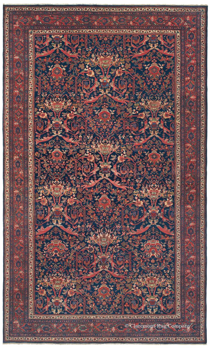 Sultanabad West Central Persian 10ft 5in X 17ft 3in Circa 1910