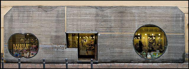 Carlo Scarpa @ Gavina Showroom - Bologna [1961-1963] #2 by d.teil [watch out = d.teil on pinterest], via Flickr