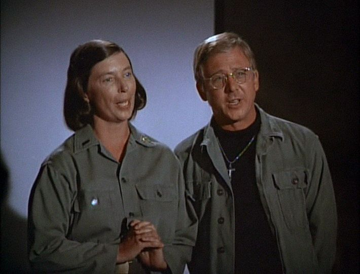 M*A*S*H: Season 4, Episode 7 Dear Mildred (24 Oct. 1975) 4077, mash, William Christopher , Father Francis Mulcahy,