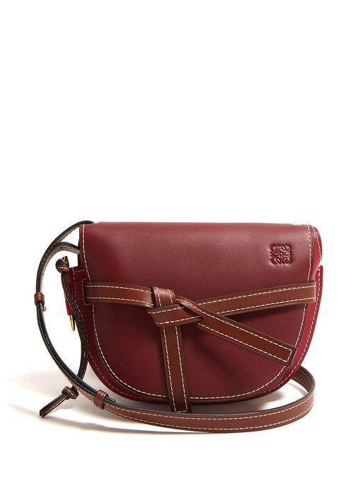 b44612c9083c Loewe Gate small leather cross-body bag