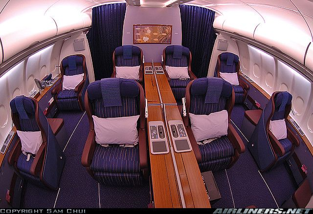 Thai Airlines first class
