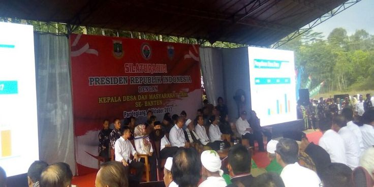 MEDIA HUKUM INDONESIA: Presiden Silaturahmi dengan Kepala Desa se-Banten