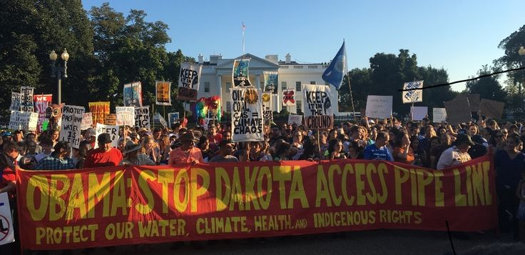 Dakota Pipeline : Les banques françaises complices de violations des droits humains - Les Amis de la Terre