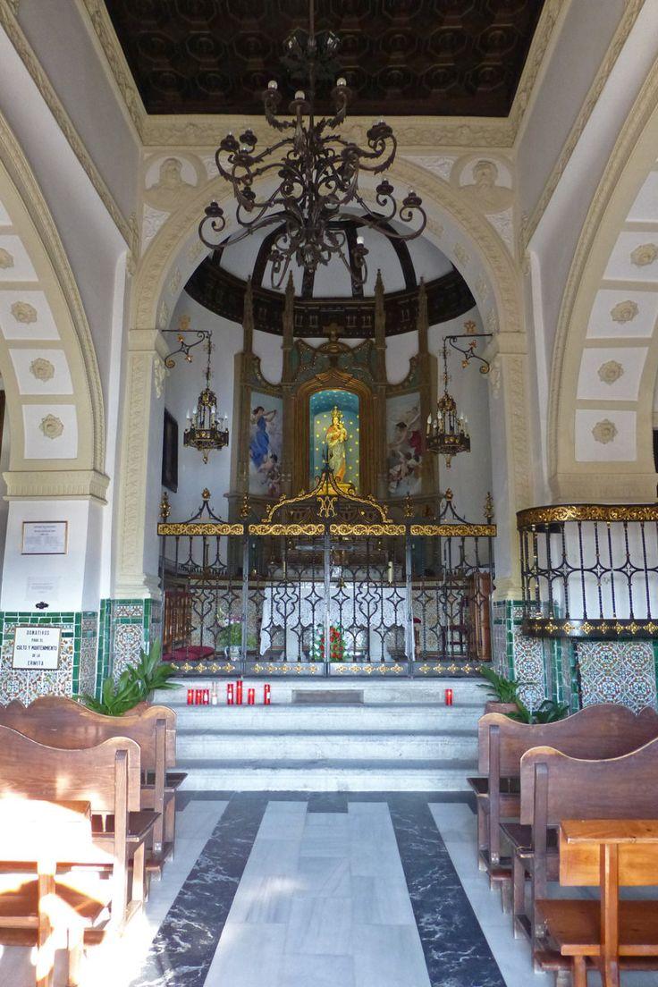 Interior de la Ermita del Valle, en Toledo