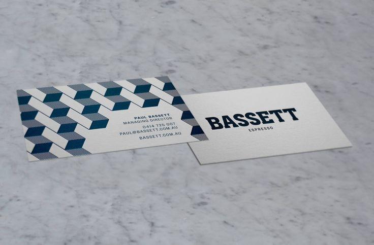 Bassett Espresso brand identity by Squad Ink