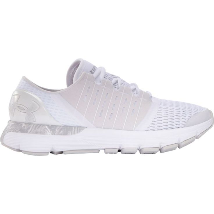 Under Armour Women's SpeedForm Europa Record-Equipped Running Shoes, White
