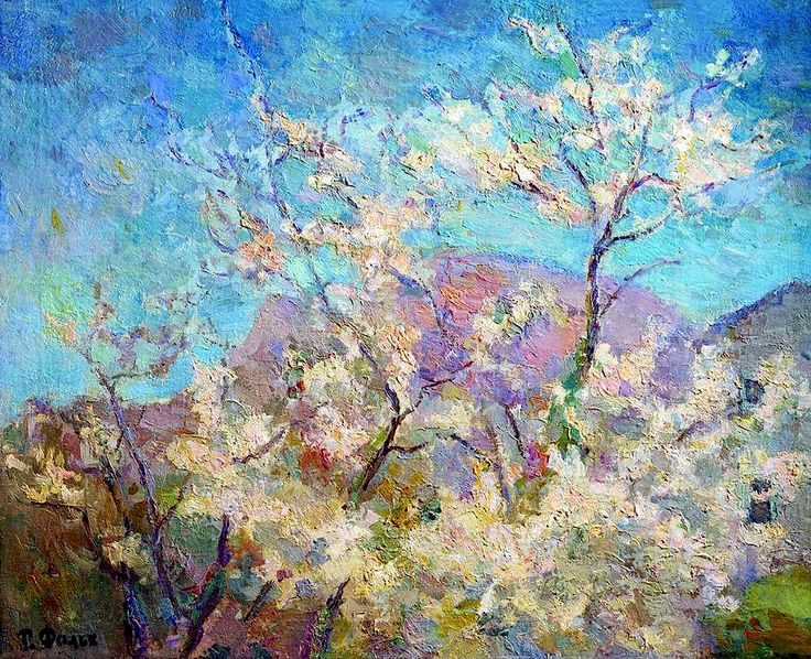Spring in Crimea Robert Falk - 1938