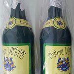 Lot 2 BOUTEILLES CHAMPAGNE CONFETTIS (Pour Fête Anniversaire Mariage Jour de l'an): Cette bouteille de champagne à confettis mesure environ…