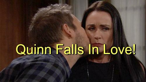 """""""The Bold and The Beautiful"""" (B&B) spoilers hint that Quinn Fuller (Rena Sofer) and Liam Spencer (Scott Clifton) are ripe for a twisted new romance..."""