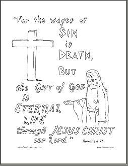 romans 8 28 coloring page - 32 romans 6 23 coloring page the o 39 jays coloring
