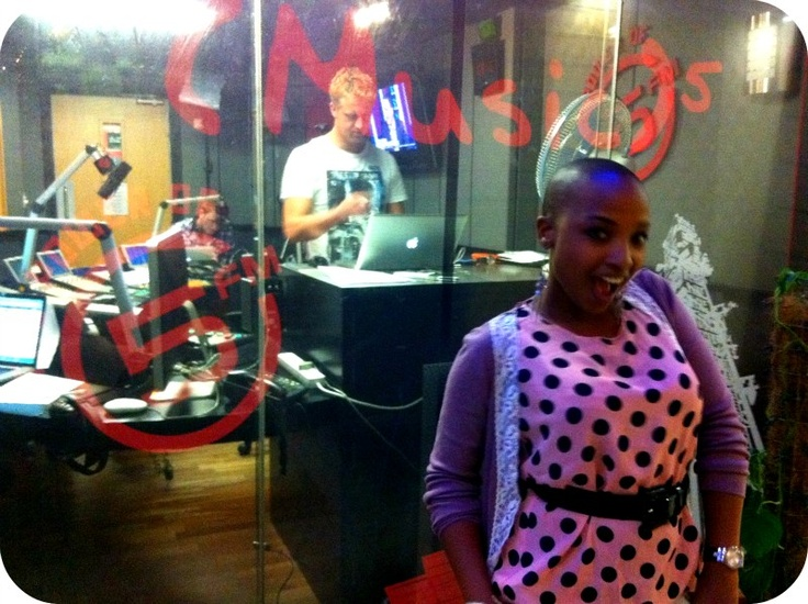 http://www.facebook.com/MadeInSA.TV Gareth Cliff in studio, TV show, Made in SA
