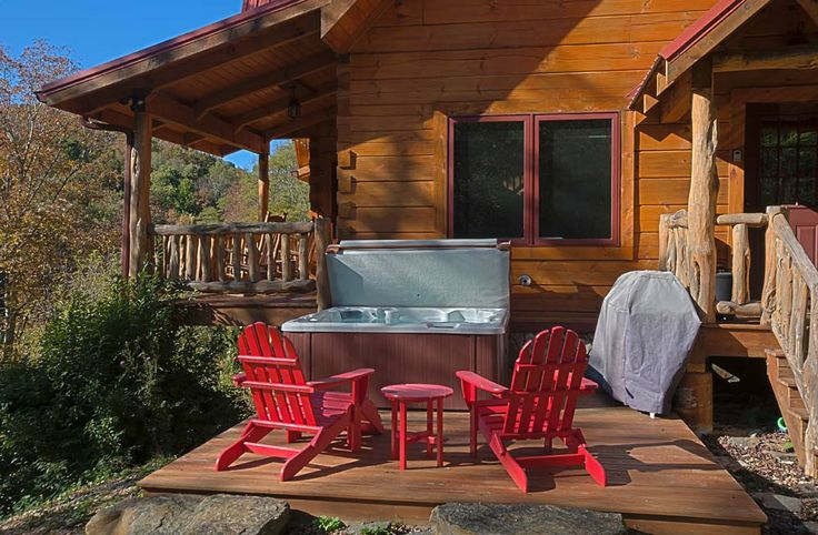 Pin by blue ridge vacation cabins ashemore luxury for Rental cabins in boone nc