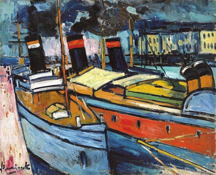 Maurice de Vlaminck Havre, Bassins, 1907.