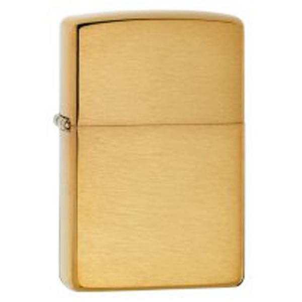 Zippo Armor Brushed Brass Lighter