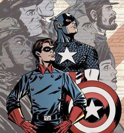 Captain America and Bucky Barnes I love Bucky! Such a cool character!