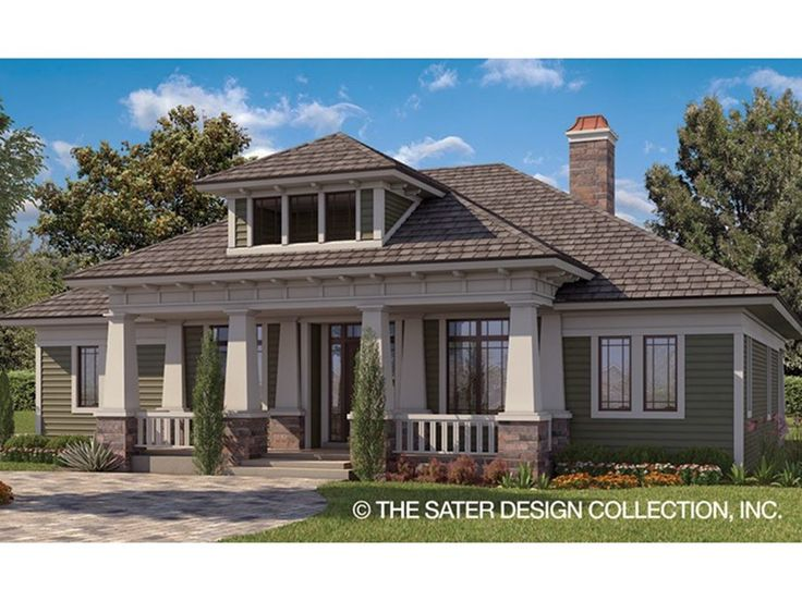 Craftsman House Plan with 2337 Square Feet and 3 Bedrooms from Dream Home Source | House Plan Code DHSW077904