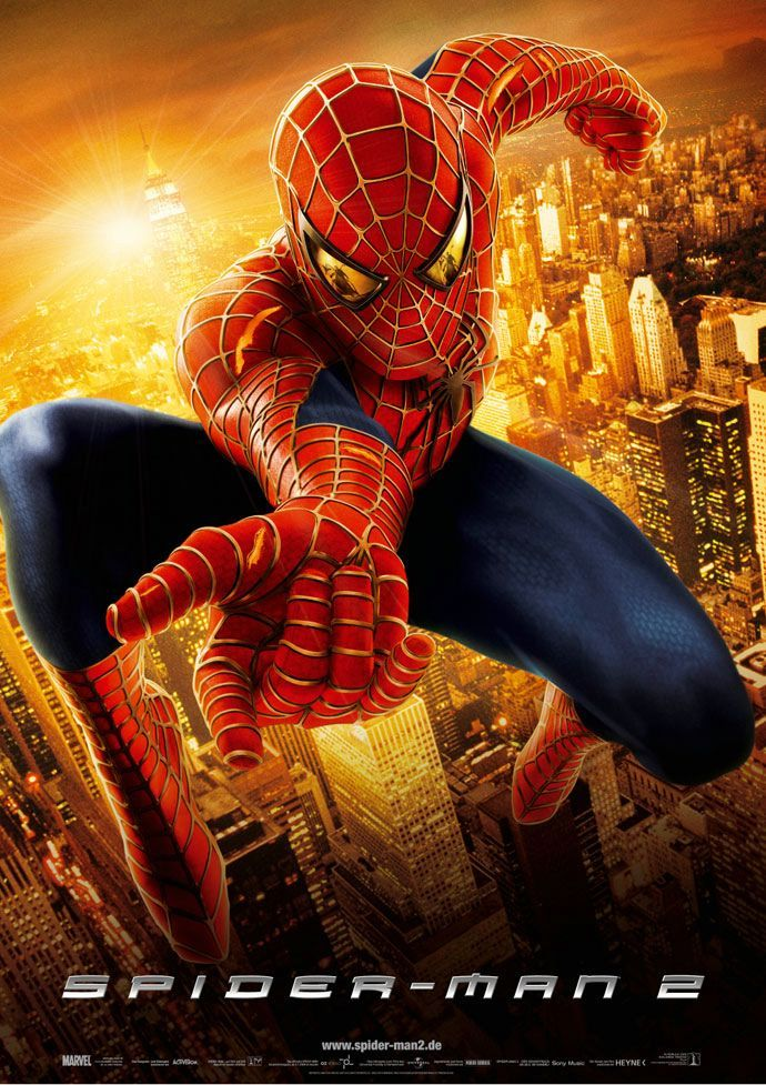 """Although far from being Shakespearean, this super-hero movie deals with the """"To be or not to be"""" theme when Spider-Man decides to quit fighting villains to mend and correct his social life. This inner struggle, dealt with effectively, makes this into a special superhero movie. 2004"""