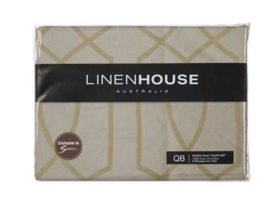 linen house belluci quilt cover exclusive to snooze get it now at your nearest furniture