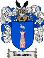 This Dutch surname of BOUWENS was of the baptismal group of surnames meaning 'The son of Baldwin'. The name means 'bold protector'. It was n...