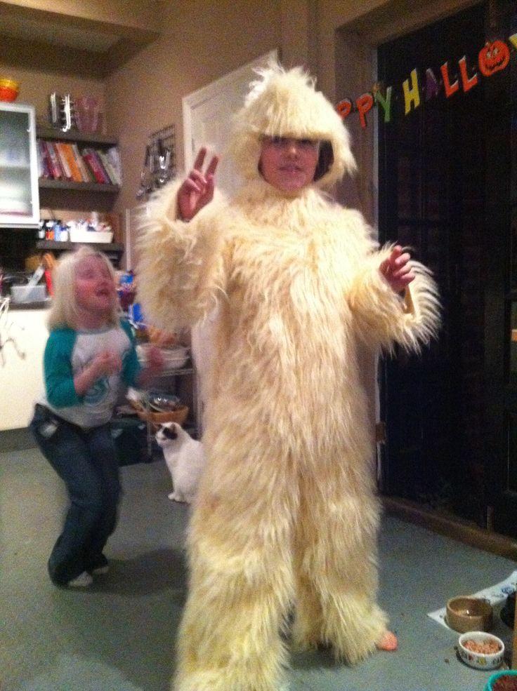 Joe's yeti costume | Things what I made... | Pinterest ...