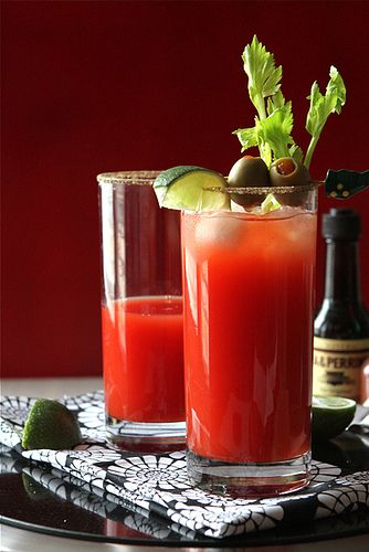 Ahh there's nothing a ceasar can't fix. And for all you U.S. Citizens, this is 10 times better than a Bloody Mary if you like tomato juice!!