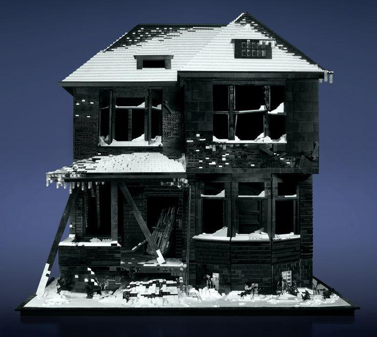 Заброшенные дома Майка Дойла из LEGO - 03