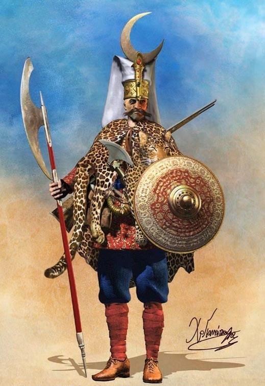 :::: ✿⊱╮☼ ☾ PINTEREST.COM christiancross ☀❤•♥•* ::::Christos Giannopoulos - Jenízaro turco otomano